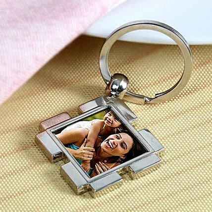 Happy Mom Personalized Keychain By FNP