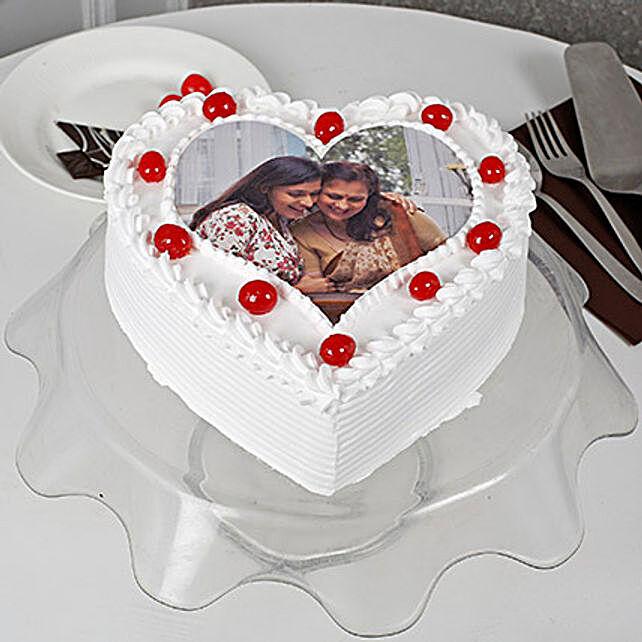 Heart Shape Personalised Pineapple Cake