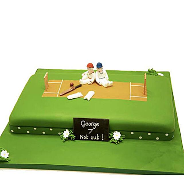 Heavenly Delights Cricket Cake 4kg Pineapple