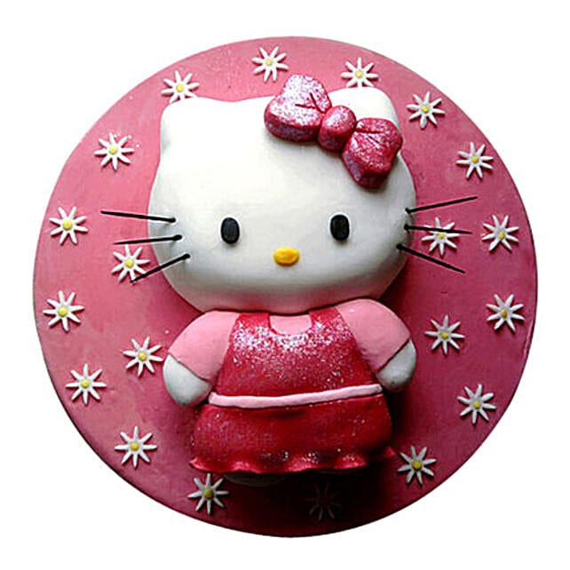 Hello Kitty Cake 4kg Pineapple