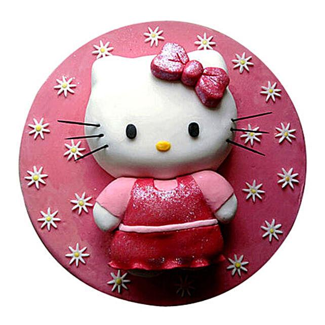 Hello Kitty Cake 5kg Truffle Eggless