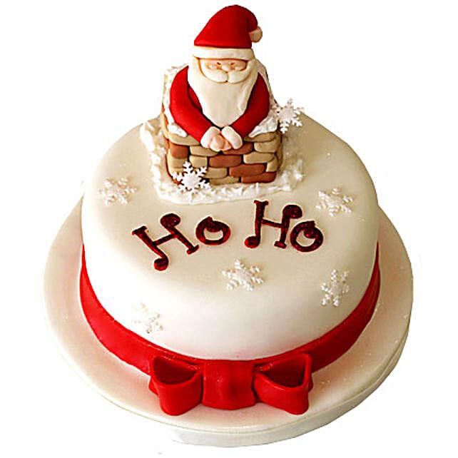Ho-Ho Christmas Cake 4kg Eggless