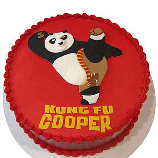 Kicking Po Cake 4Kg Chocolate
