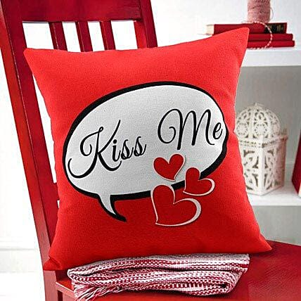 Kiss Me Cushion By FNP