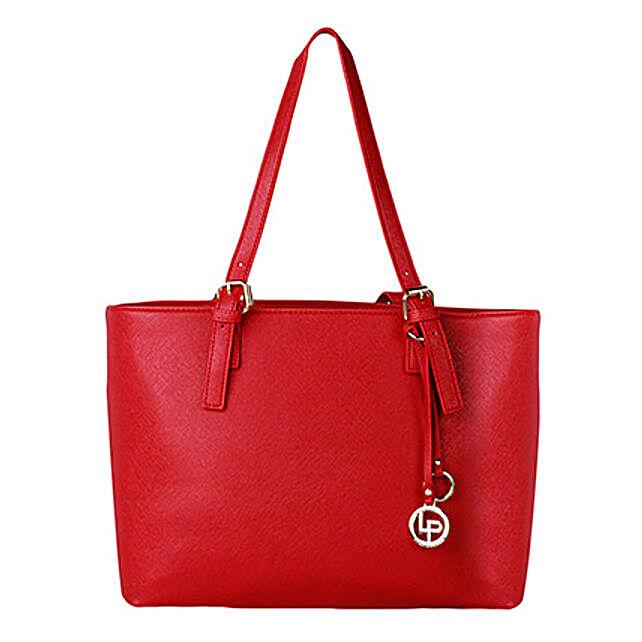 Lino Perros Charismatic Red Tote Bag