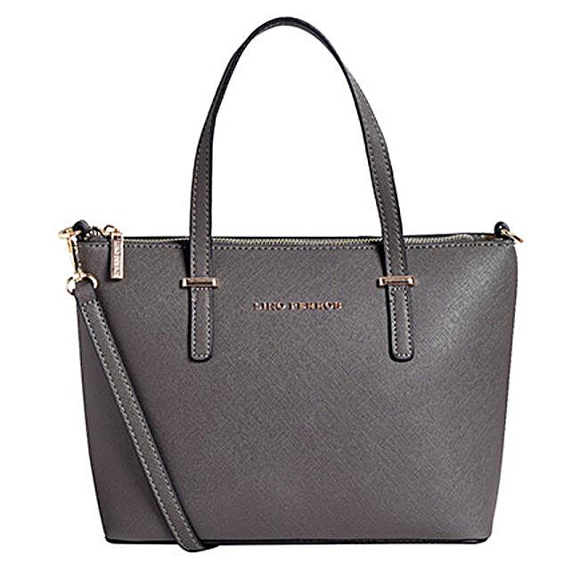 Lino Perros Elegant Grey Tote Bag