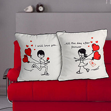 Love Couple Cushion By FNP
