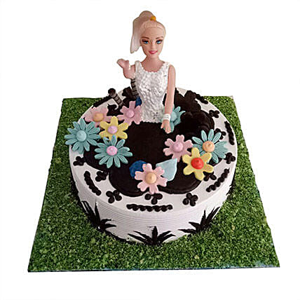 Lovely Baby Doll Cake 2 Kg Eggless
