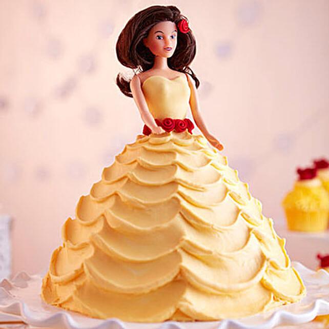 Lovely Barbie Cake Black Forest 3kg