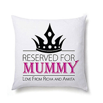 Lovely Personalized Cushion For Mom-Cushion For Mom 12X12 inch