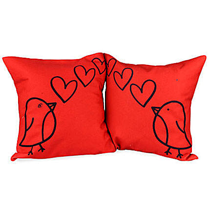 Loving Birds Couple Cushions By FNP