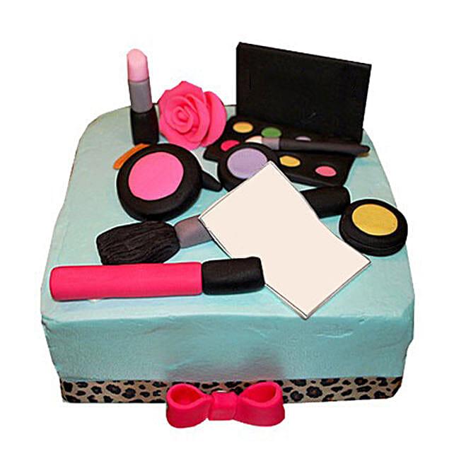 MAC Makeup Cake 3kg Chocolate Eggless