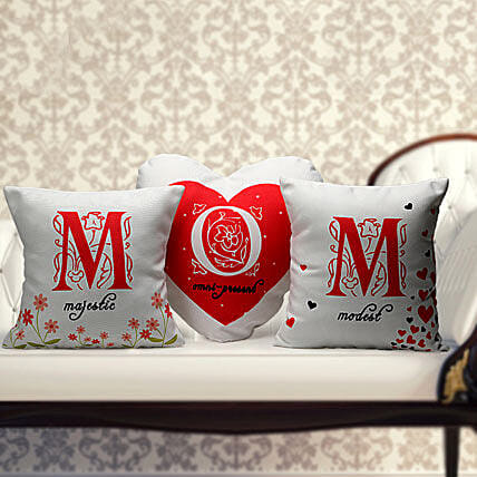 Majestic Omnipresent Modest Mom-set of 3 MOM cushion