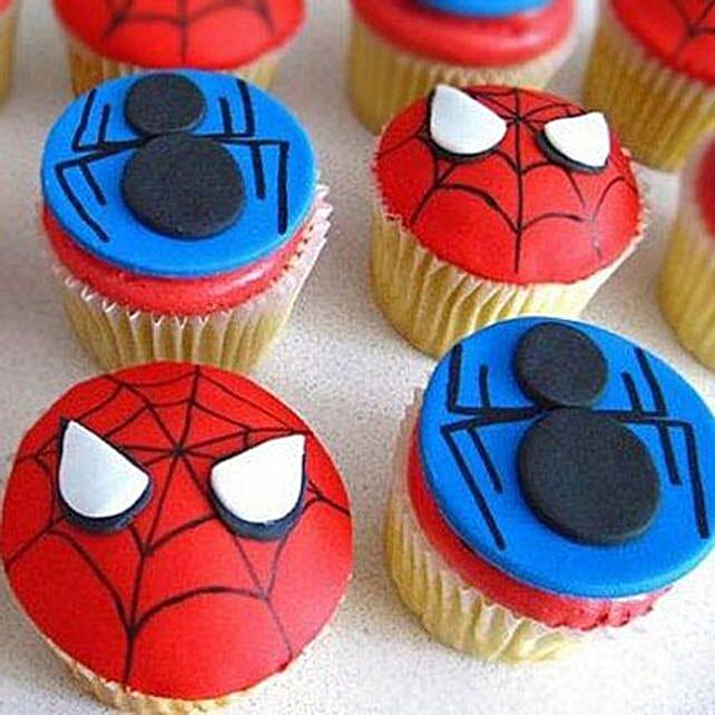 Spiders Fondant Cupcake 6