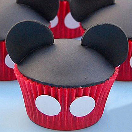 Cute Minnie Cupcake for Kids6