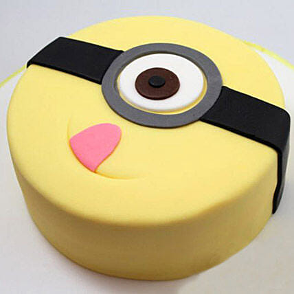Minion Stuart Cake 1kg Pineapple Eggless