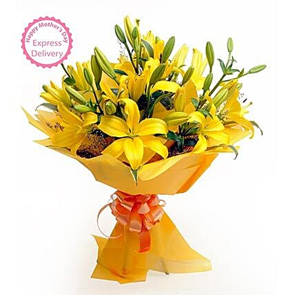 Mothers Day Spl Asiatic Lilies FNP