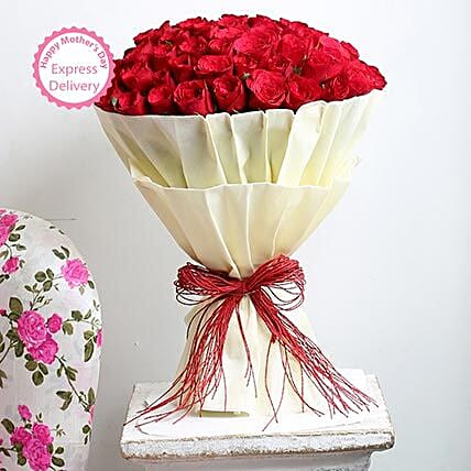 Mothers Day Spl Authentic Love 100 Roses by FNP