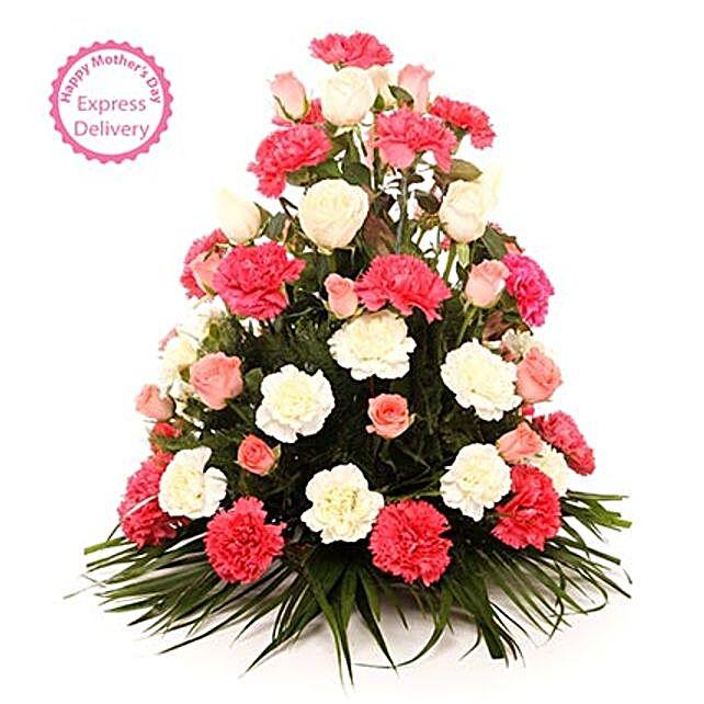Mothers Day Spl Elegant Blooms Of Sunshine by FNP