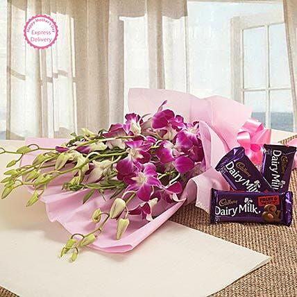 Mothers Day Spl Sweet Delight by FNP