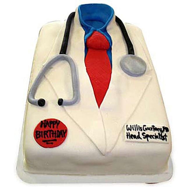 Mushy Doctor Cake 3kg Black Forest