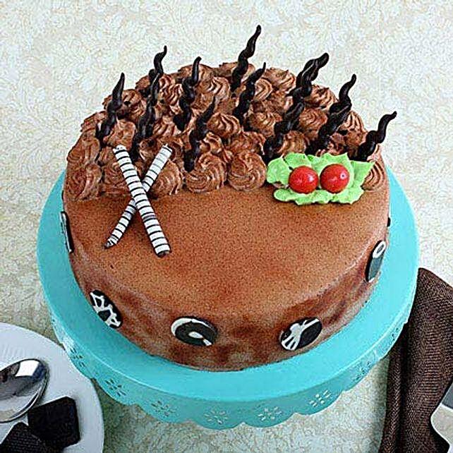 Musical Cake 1kg Eggless Pineapple