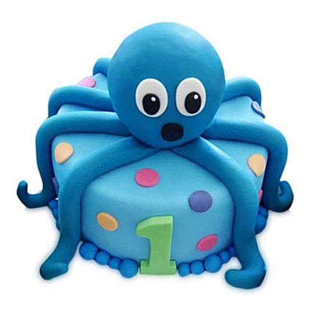 Octopus Cake 3Kg Black Forest