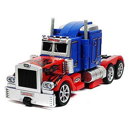 One Button Transforming Truck