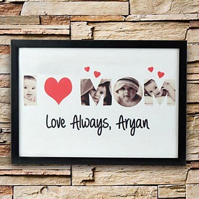 Personalized Love Alaways Frame