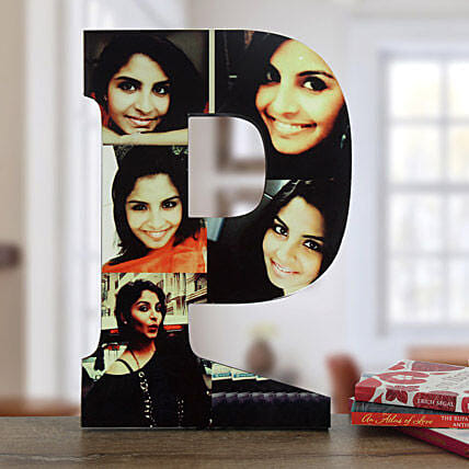 Personalized p shaped table top
