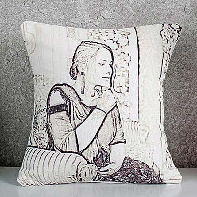 Sketch Cushion Online