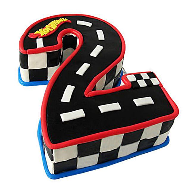 Racing Track Cake 2kg Vanilla