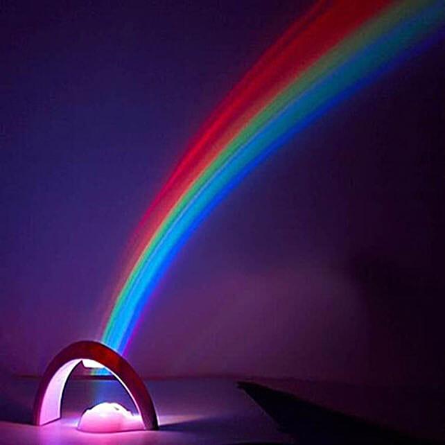 Rainbow Projector Night Lamp