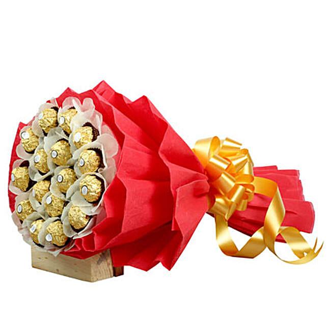 Rocher Choco Bouquet For Icici