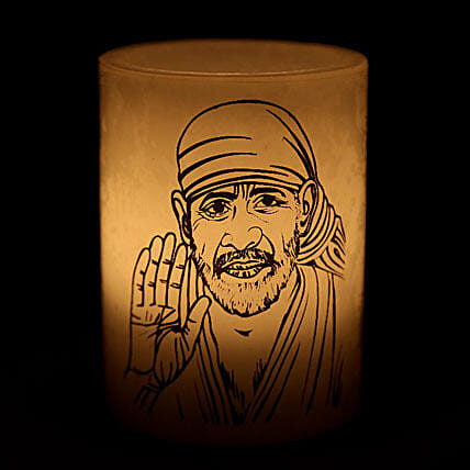Sai Baba Candle-Your gift contains sai baba candle