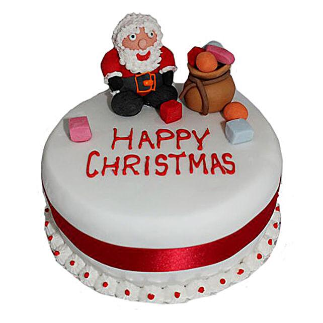 Santa Claus Christmas Cake 2kg