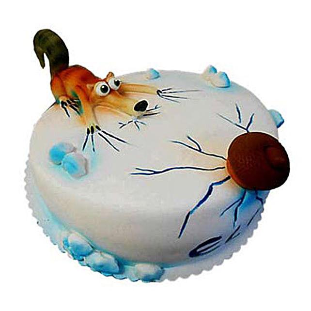 Scrat Cake 4kg Chocolate