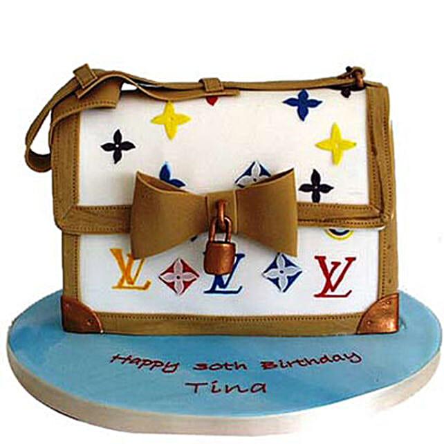 Sexy LV Bag Cake 4kg
