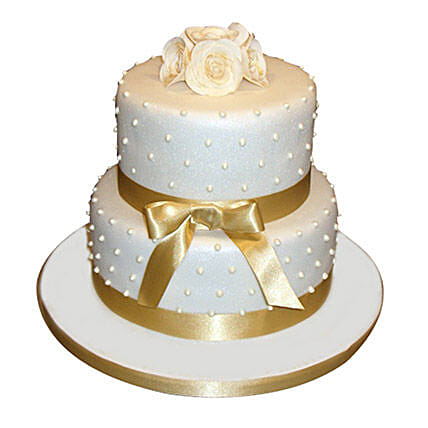 Special 2 Tier Anniversary Cake Black Forest 5kg