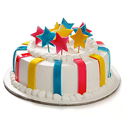 Celebration Cake 1 kg:Send Wedding Gifts to Mohali