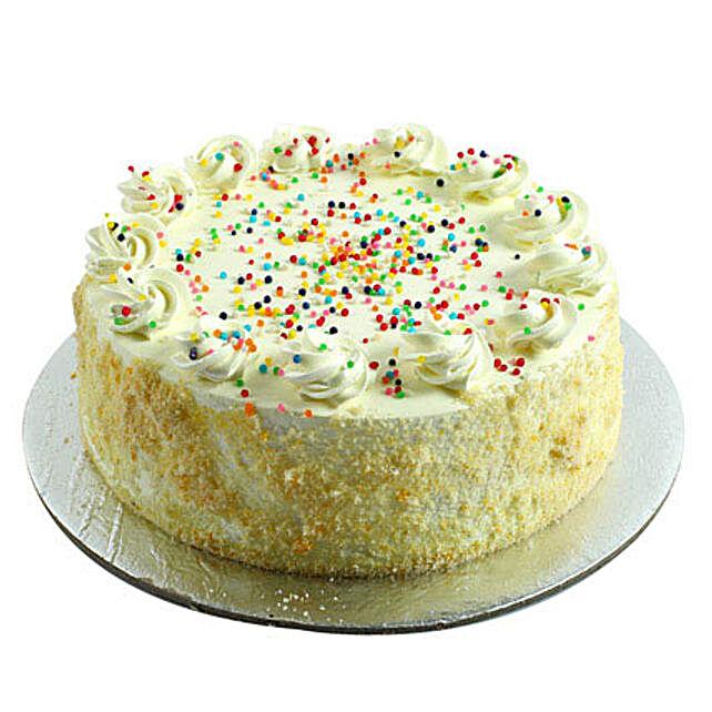 Special Vanilla Cake Half kg Eggless