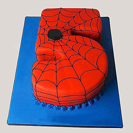 Spiderman Love Cake 3kg Eggless Truffle
