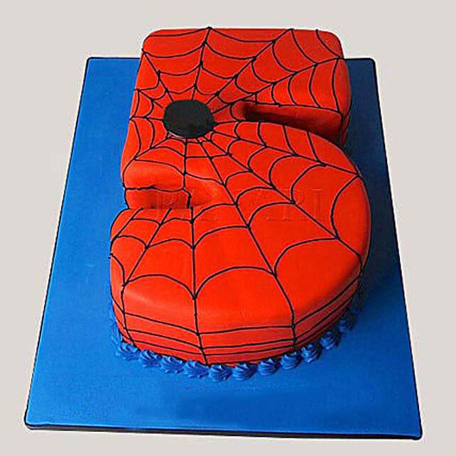 Spiderman Love Cake 4kg Black Forest