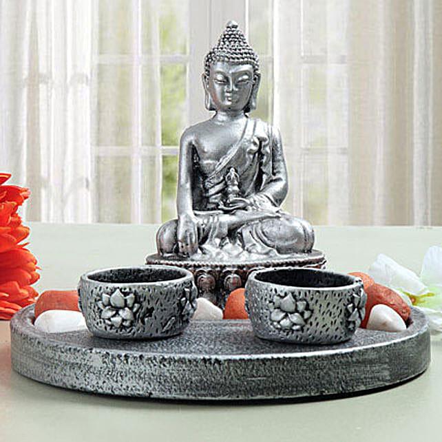 Meditating Buddha showpiece