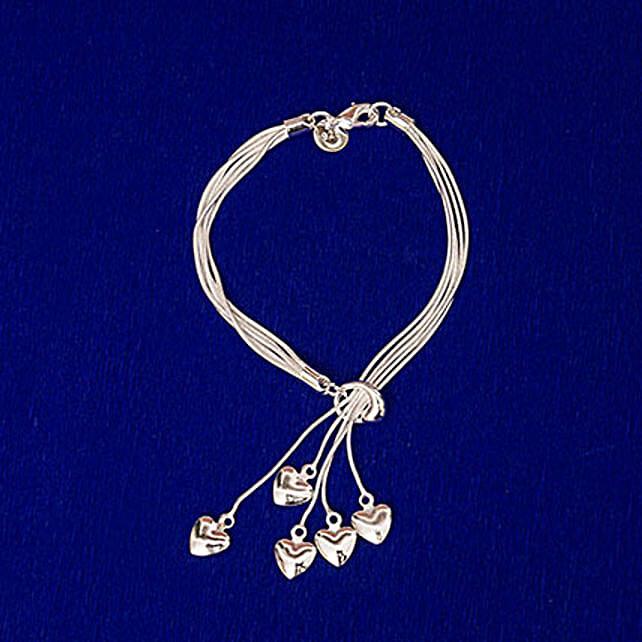 Sterling Silver Alloy Bracelet