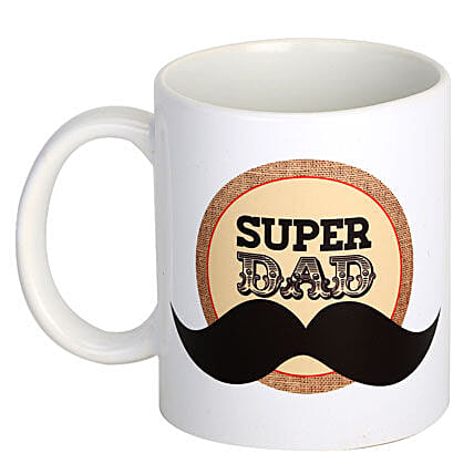 Dad Coffee Mug-printed white ceramic coffee mug