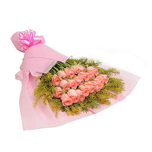 Valentine One Sided Pink Blush