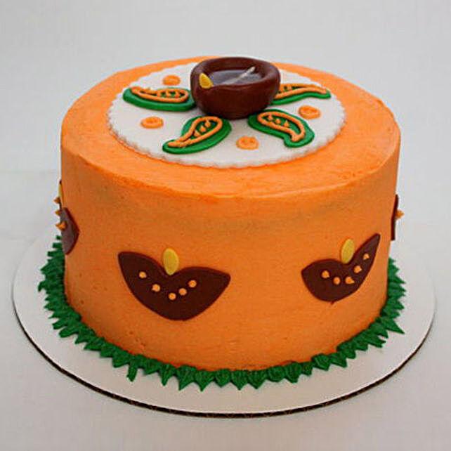 Vivid Diwali Cake 2kg Eggless Chocolate