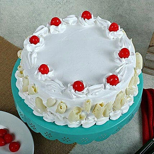 White Forest Cake Half Kg For Icici Regular
