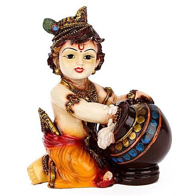 Bal Krishna Idol-1 Bal Krishna Tabletop 6.5 inches